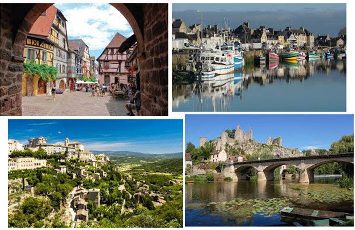 '프랑스의 가장 예쁜 마을'